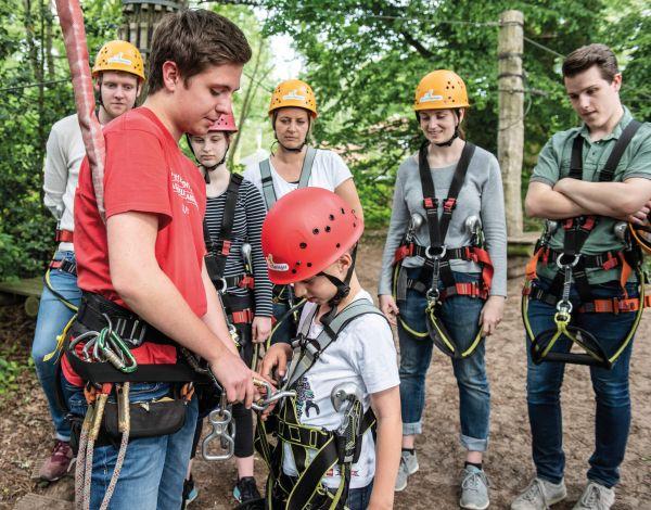 Stellenangebot: Trainer / Guide (m/w/d) im Kletterpark